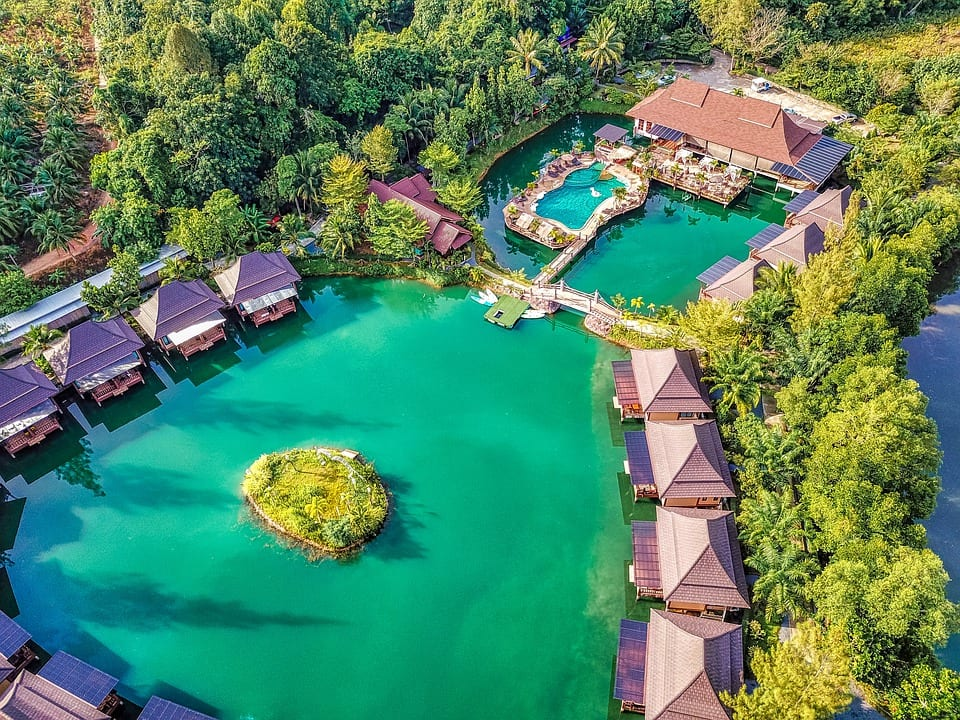 Resort hotel in Thailand