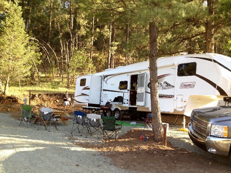 Bonito Hollow Camping New Mexico