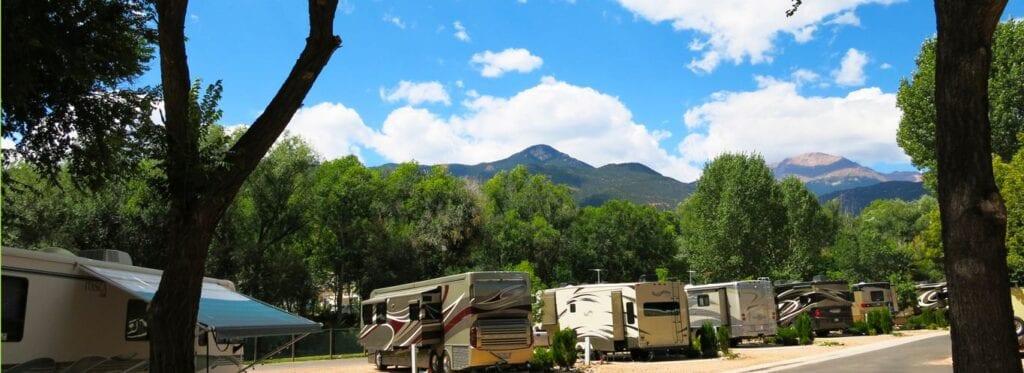 RV camping in Colorado