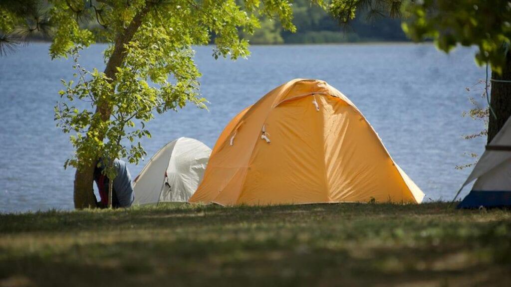 camping in Nebraska at Pawnee State Recreation Area