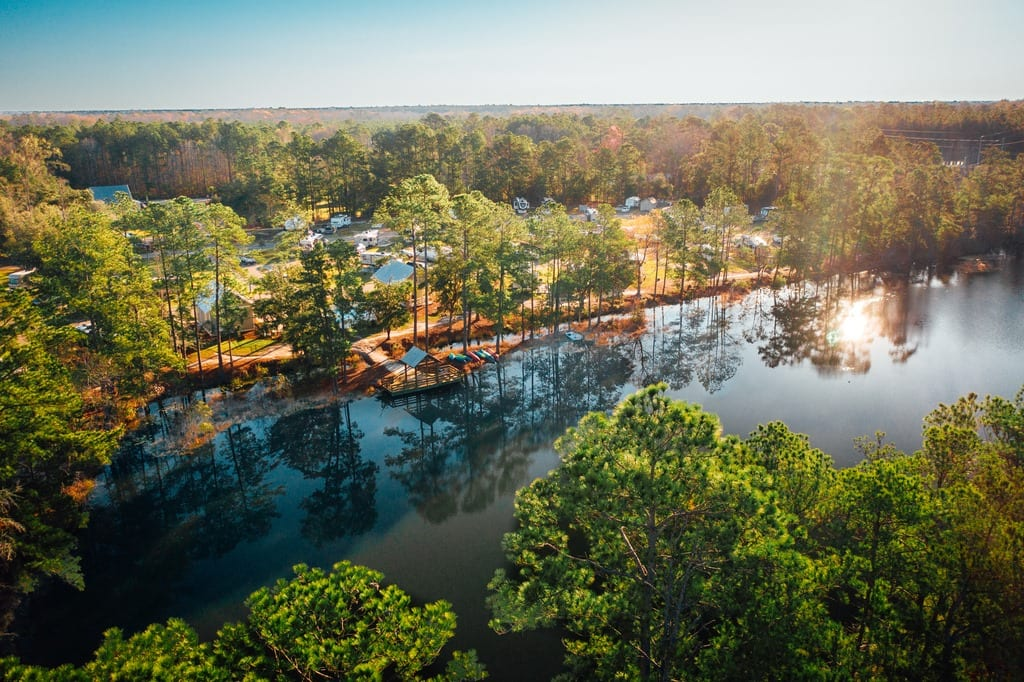 Camp Lake Jasper RV Resort - Camping South Carolina