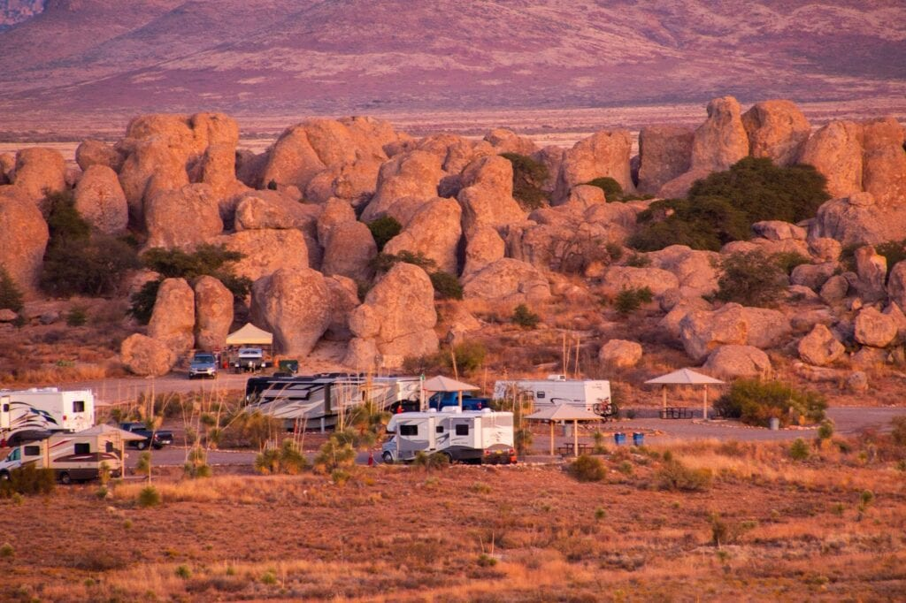 City of Rocks State Park Camping New Mexico