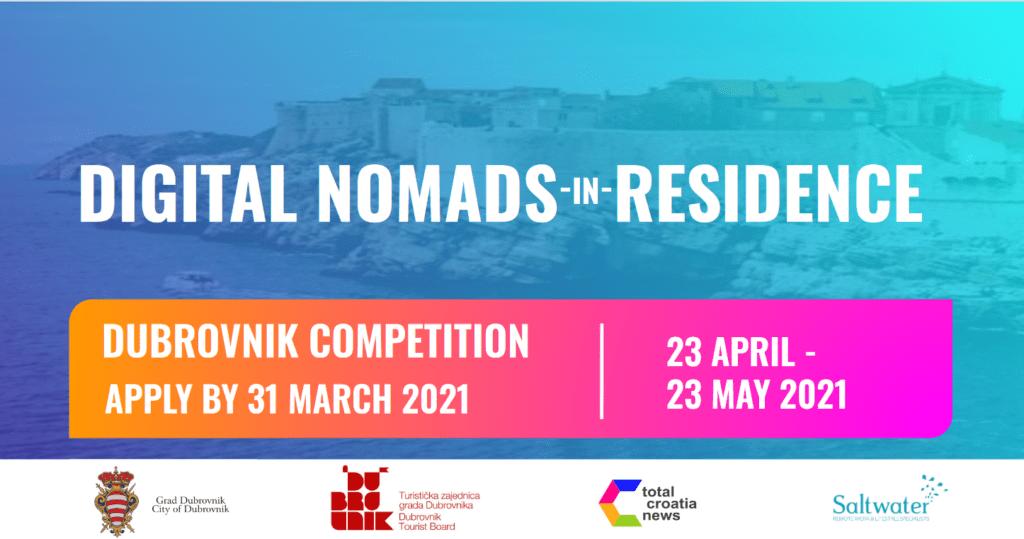 digital nomads competition dubrovnik croatia