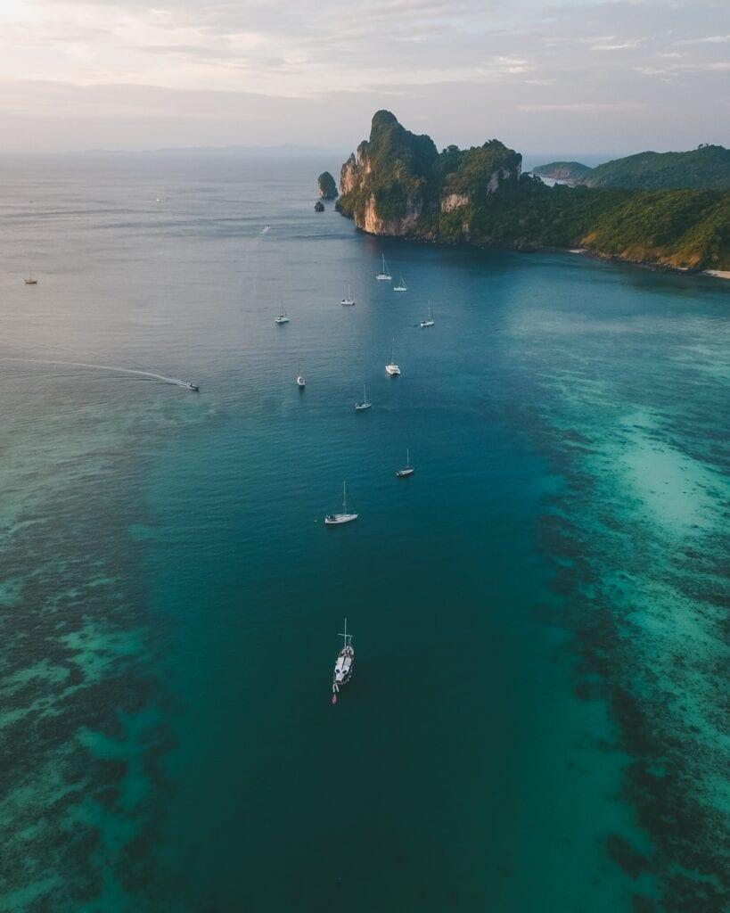 yeats in Thailand Phi Phi Islands