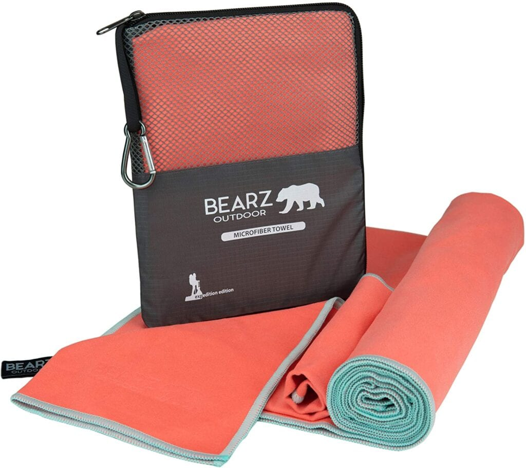 Bearz Travel Towels
