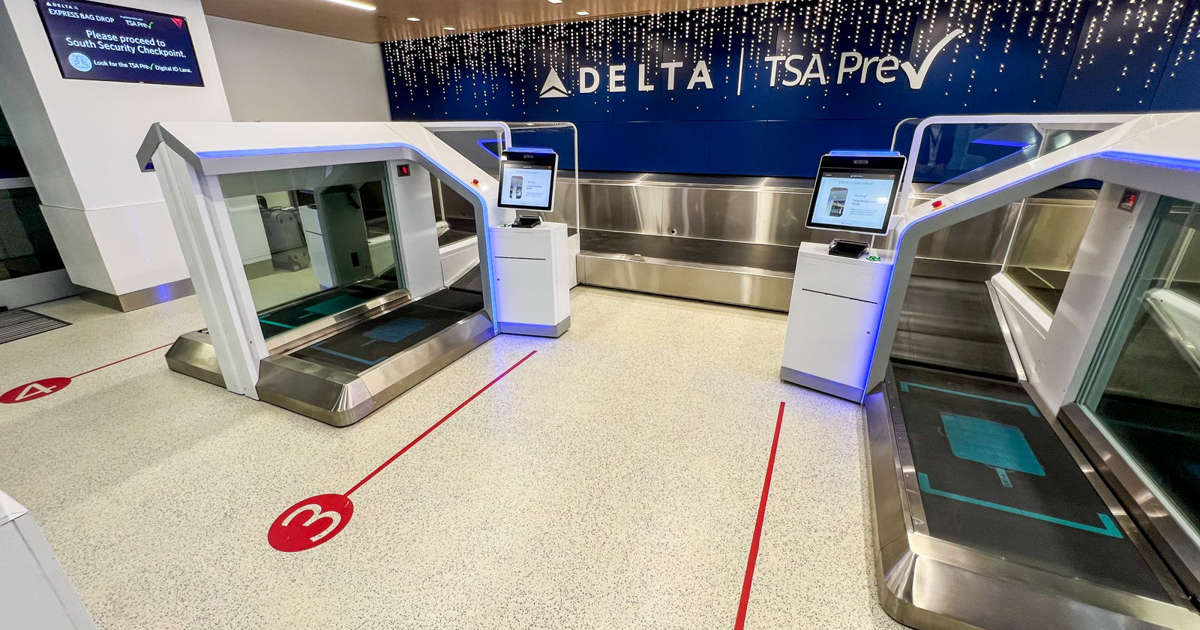 Delta Is Testing A New Biometric Technology to Speed Up Airport Hustle